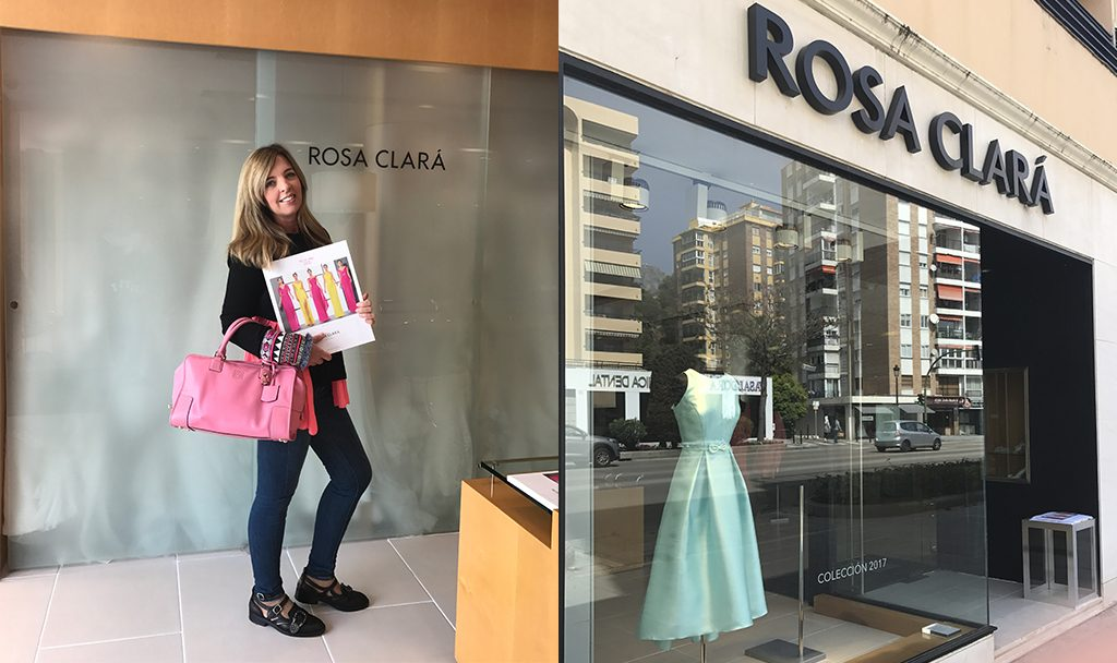 Buscando el vestido perfecto en Rosa Clará